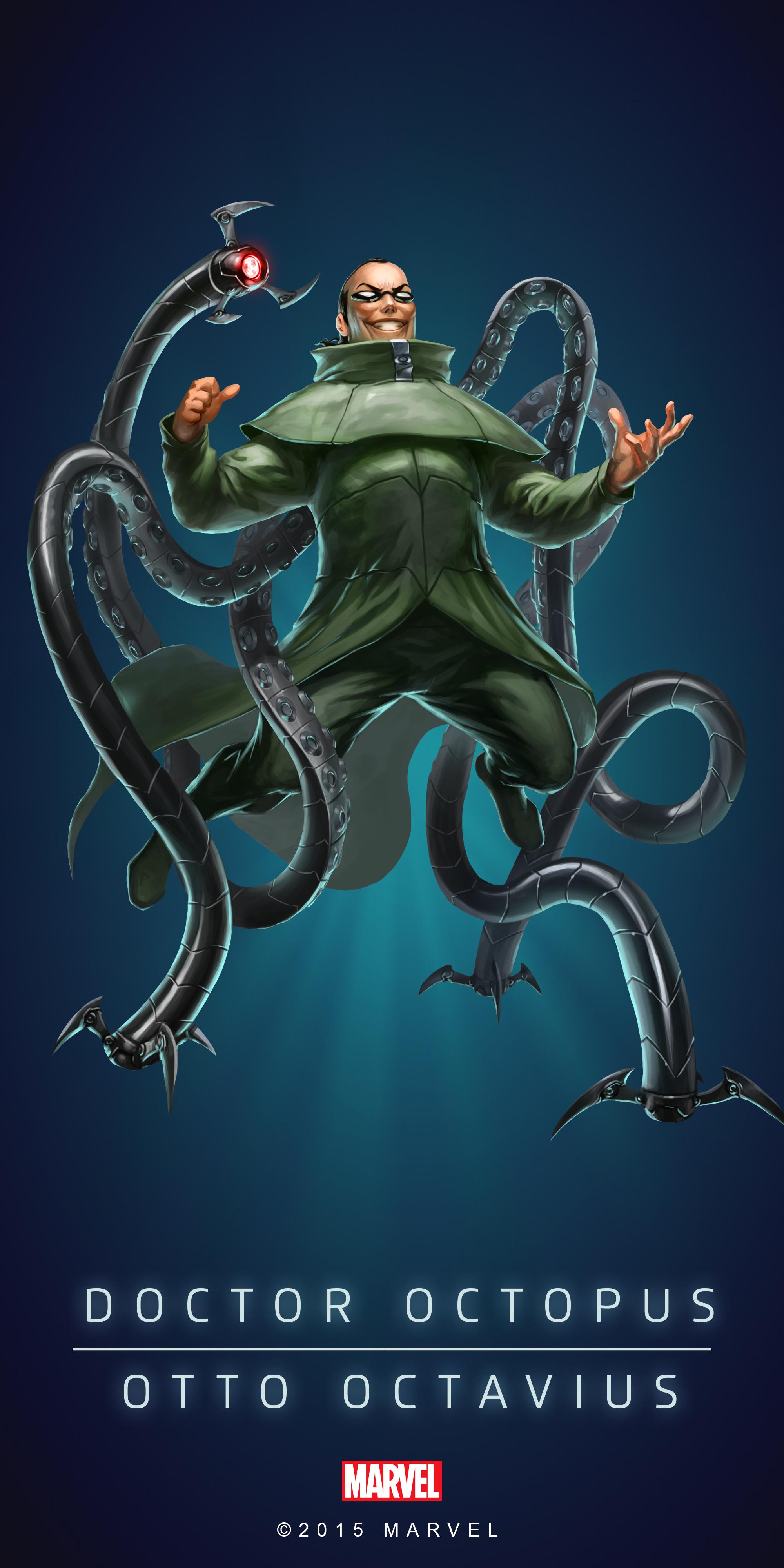 Doctor Octopus Fan Art DOCTOR OCTOPUS   OTTO OCTAVIUS IN 2000x3997