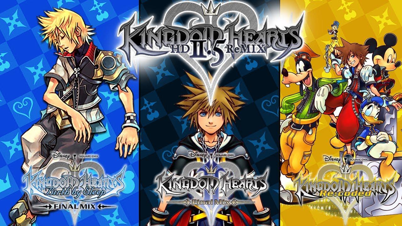 Kingdom Hearts HD 25 ReMIX concluye su grabacin de voz Region 1280x720