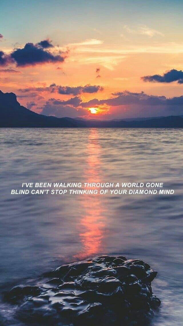 Ocean Eyes By Billie Eilish on We Heart It 640x1136