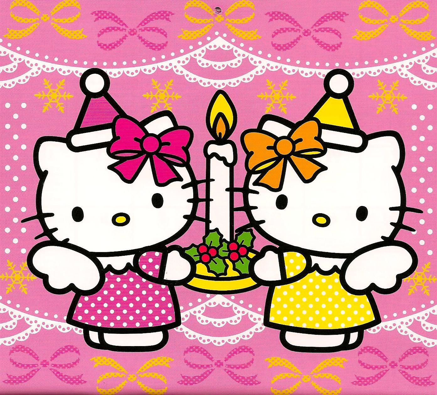 75+ Hello Kitty Christmas Wallpapers on WallpaperSafari