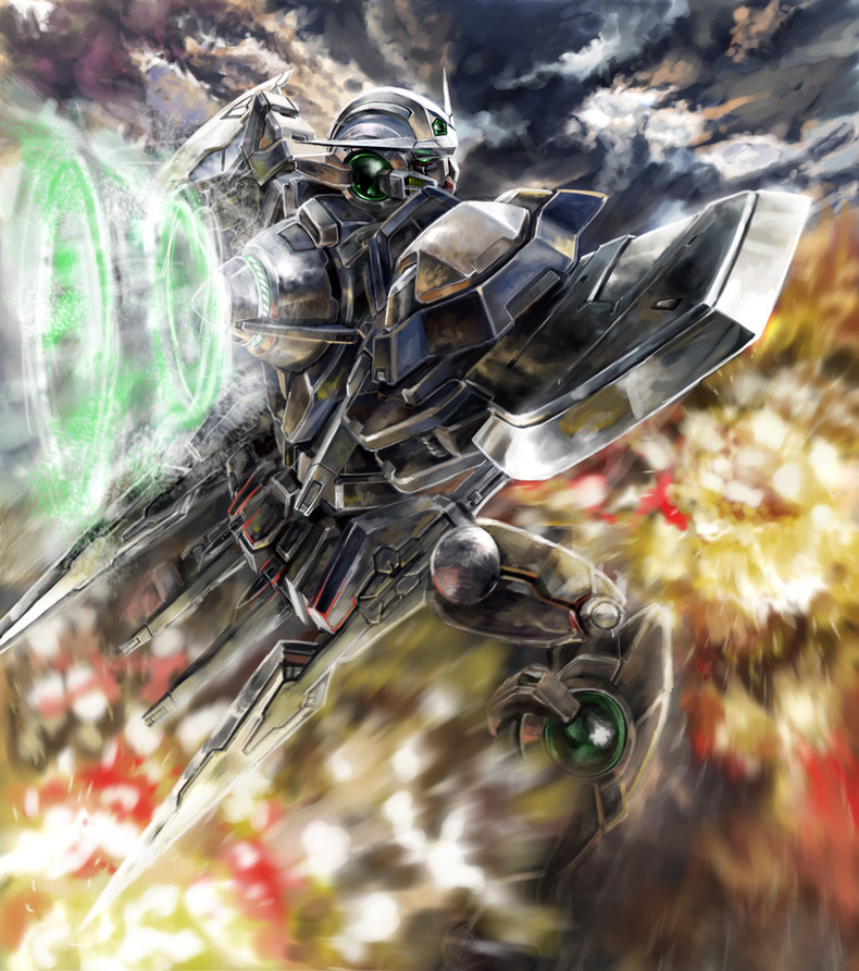 GN 001 Gundam Exia Wallpaper   Gundam Kits Collection News and Reviews 790x892