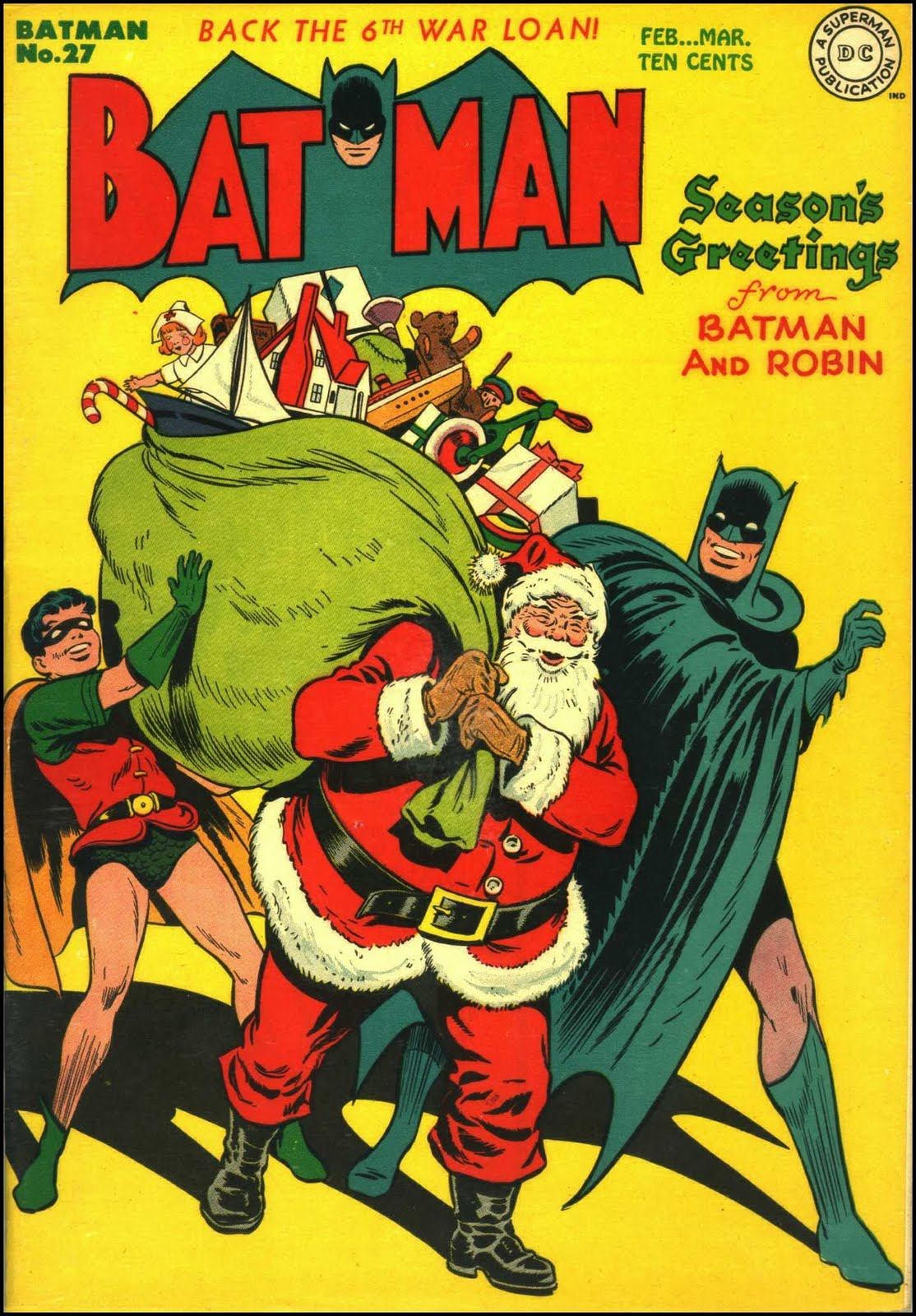 Christmas Batman Cover   Superman Images Gallery 1114x1600