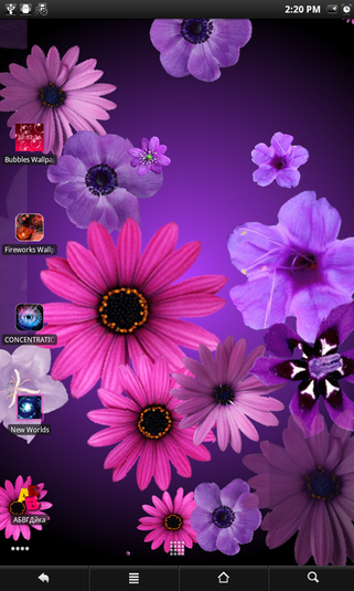Flowers live wallpaper Android   Download 321x535