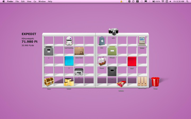 50 Desktop Icon Shelf Wallpaper On Wallpapersafari