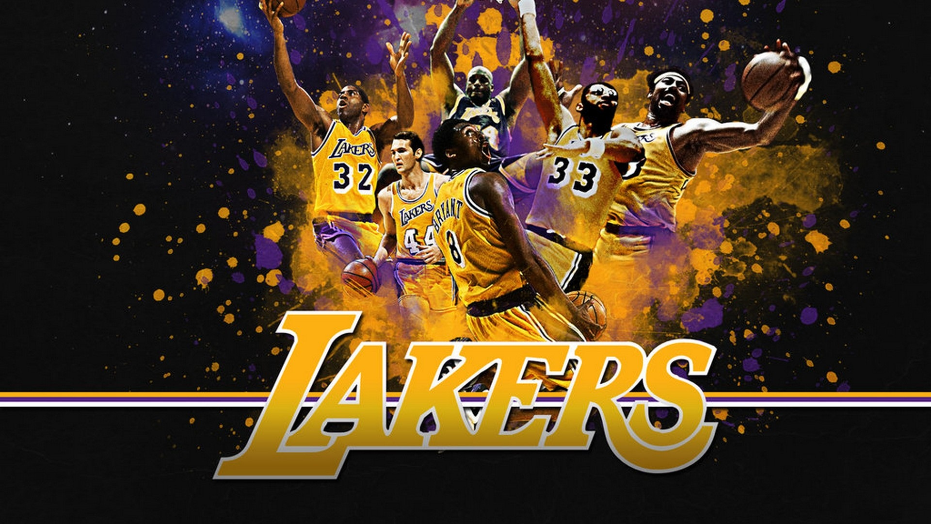 HD Backgrounds Los Angeles Lakers 2020 Basketball Wallpaper 1920x1080