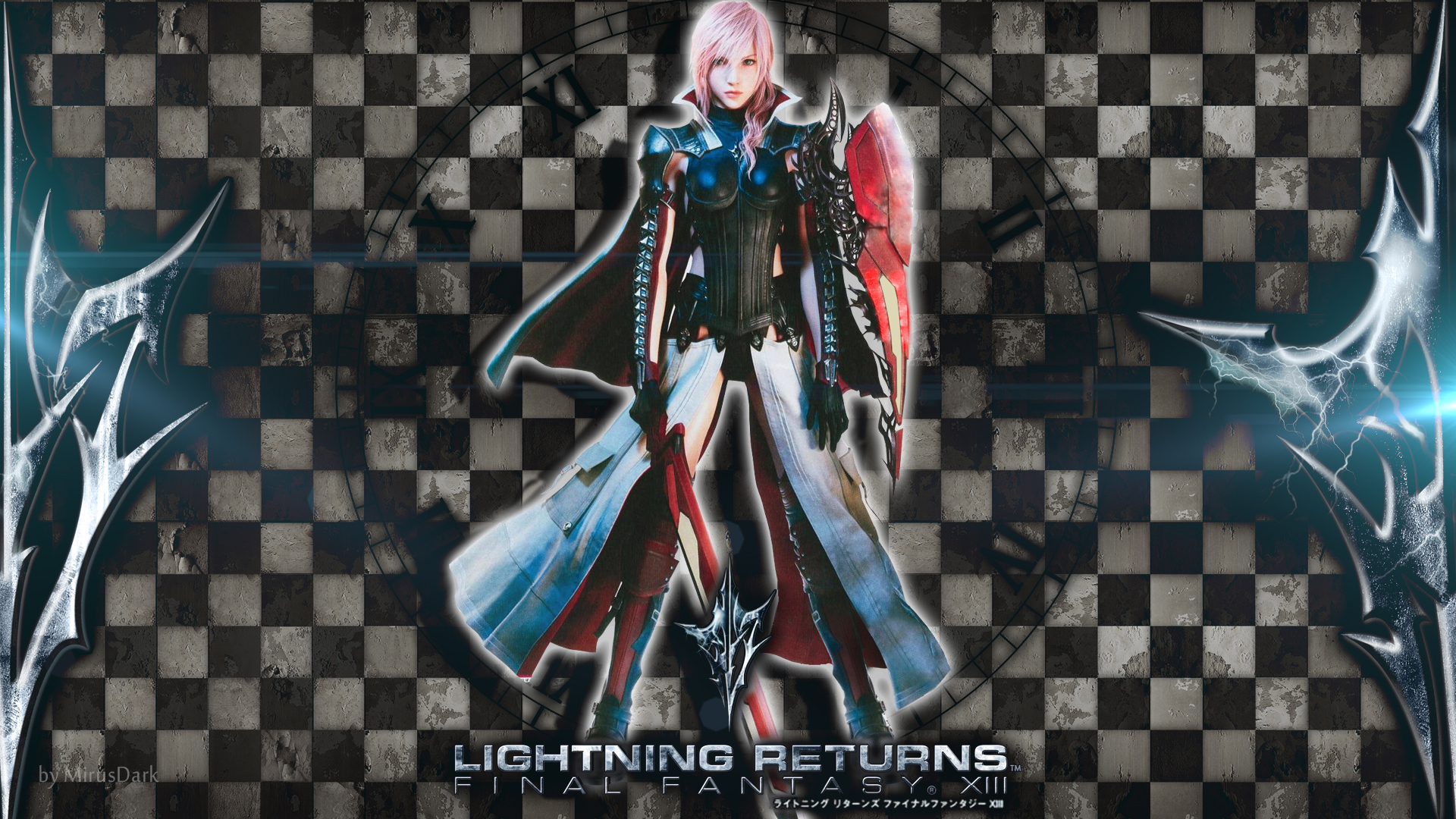 Wallpapers in het weekend Lightning Returns Final Fantasy XIII 1920x1080