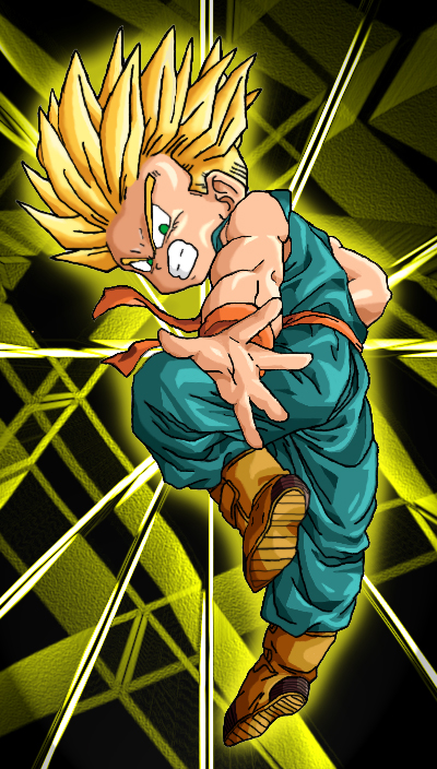 Kid Trunks Dbz Wallpaper Gambarku