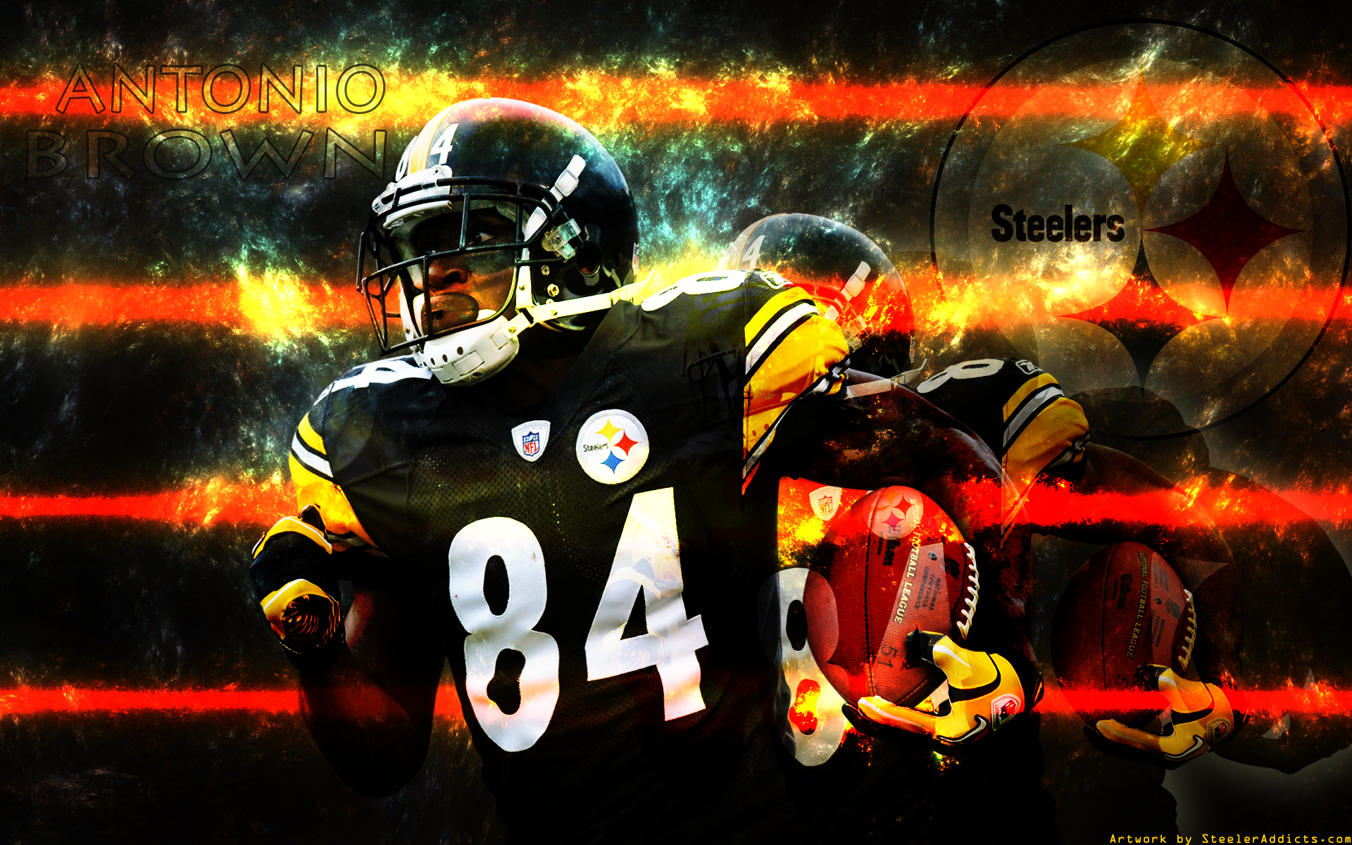 New Antonio Brown and SteelerNation wallpaper 1920x1200