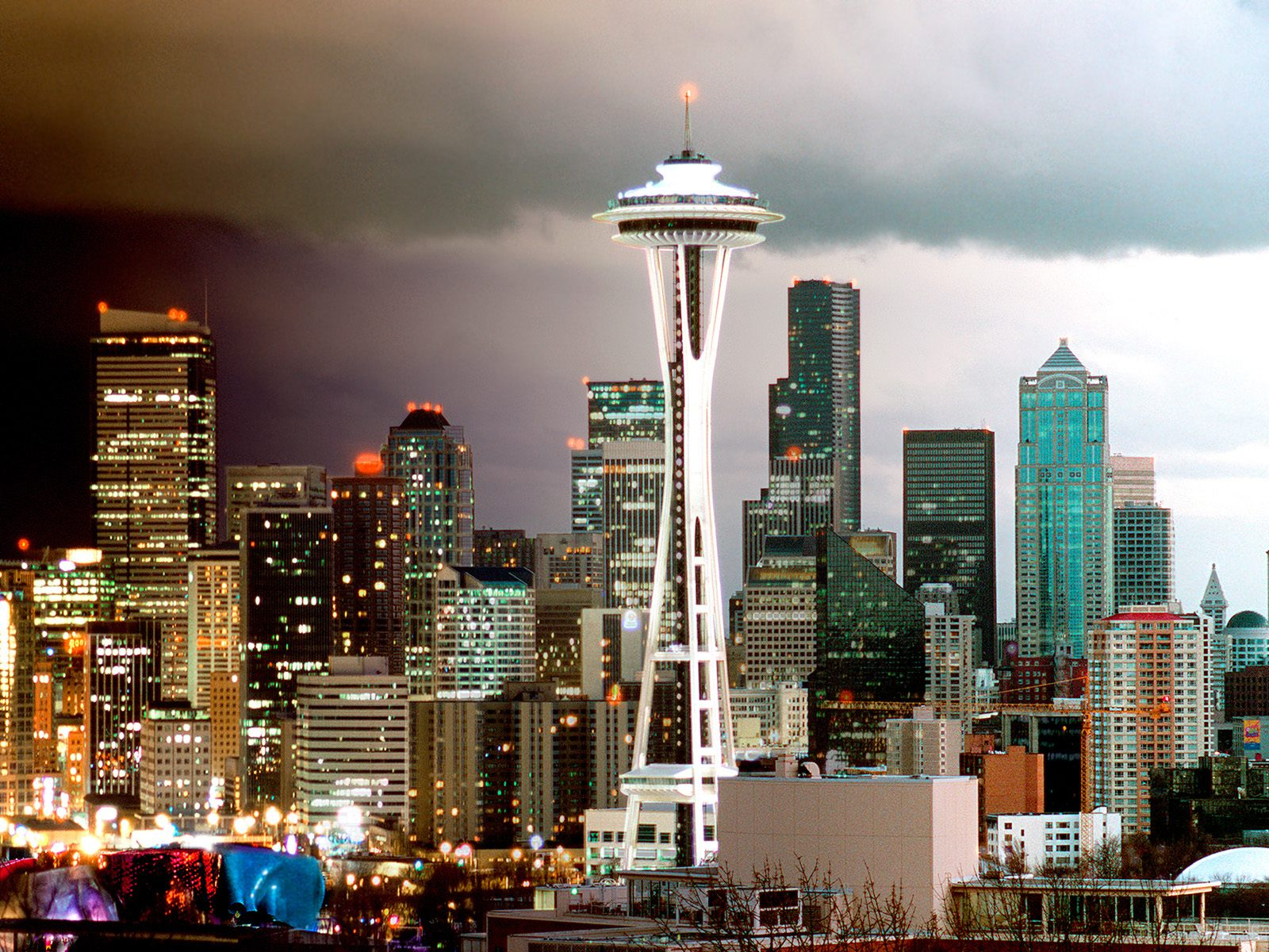 Seattle Skyline Washington Wallpapers HD Wallpapers 1600x1200