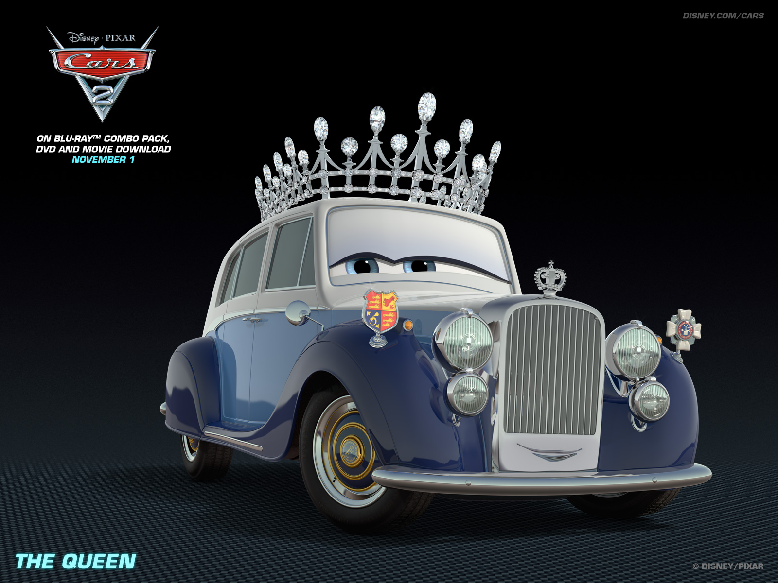 Queen   Disney Pixar Cars 2 Wallpaper 28399864 1600x1200