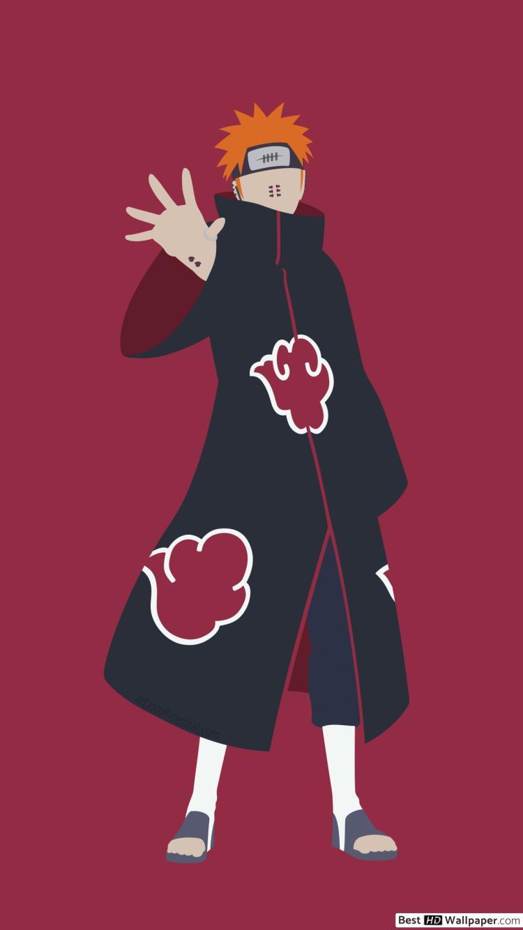 Pain Yahiko of Naruto HD wallpaper download 750x1334