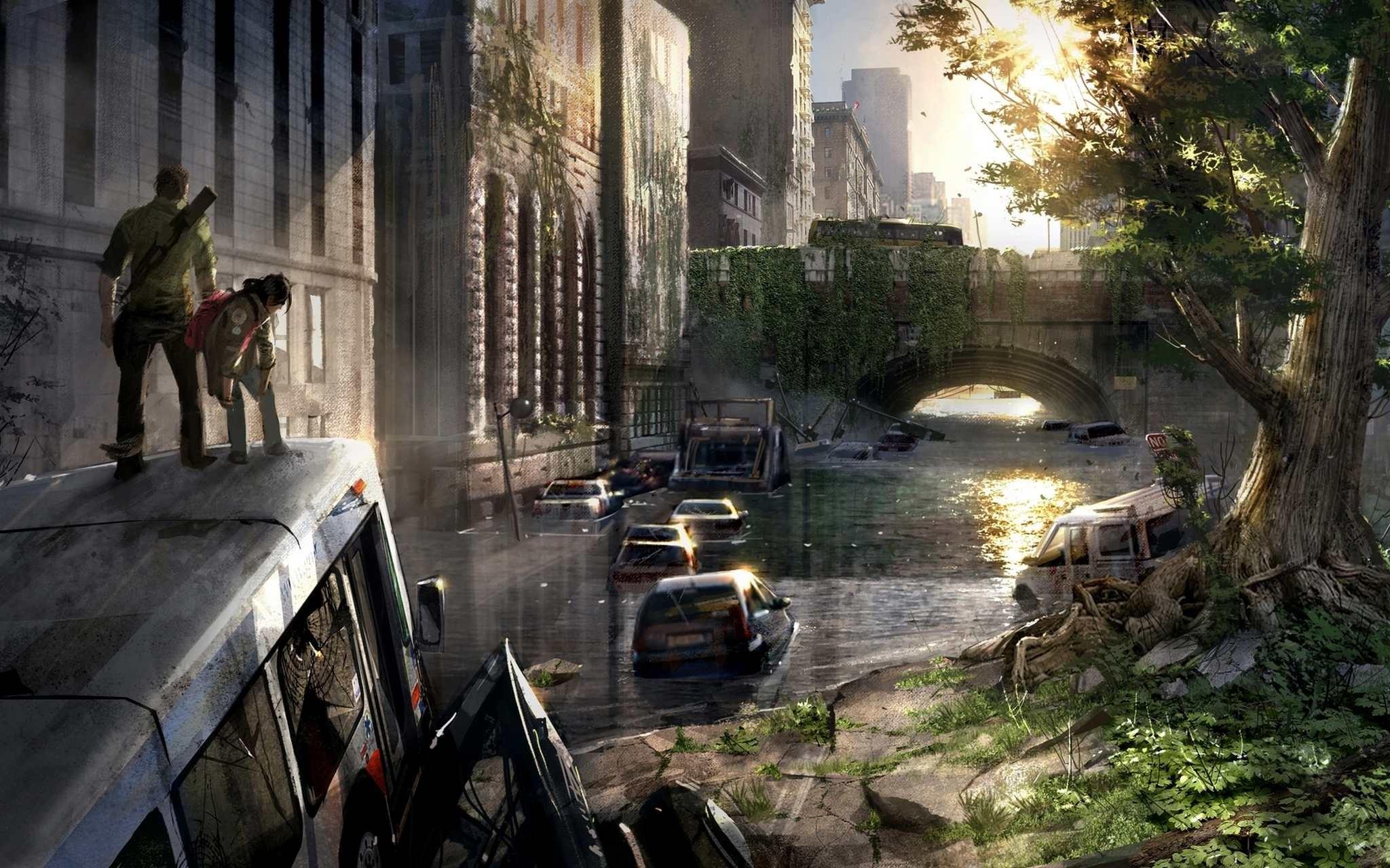 The Last Of Us Computer Wallpapers Desktop Backgrounds 2048x1280 2048x1280