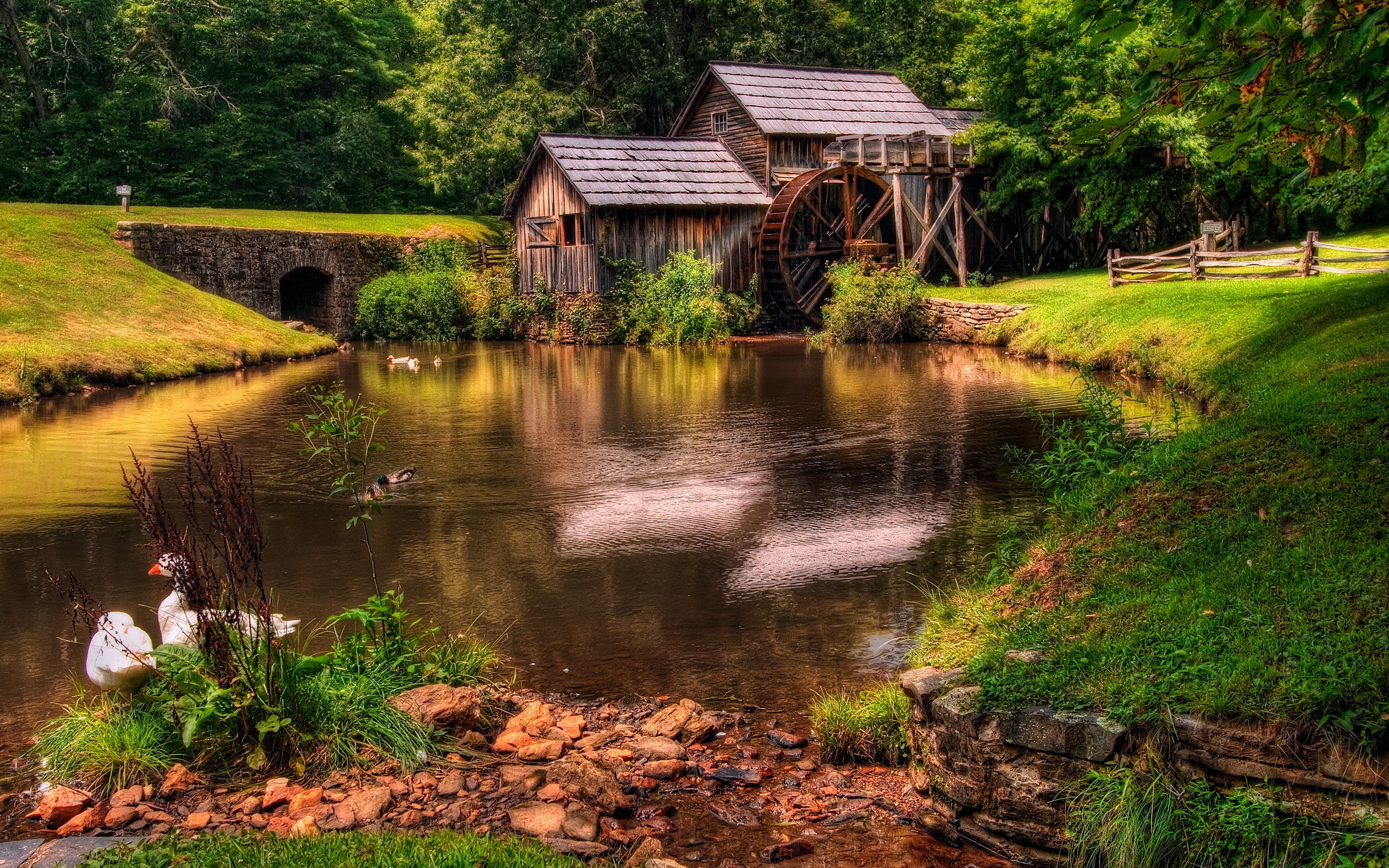 Mill Wallpaper Old Mill iPhone Wallpaper Old Mill Android Wallpaper 2560x1600