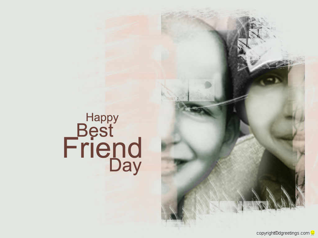 Best Friend day wallpapers of different sizes wallpapersdgreetings 1024x768