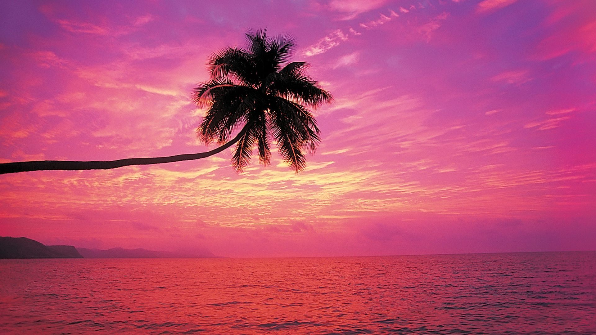 40 Romantic Beach Sunset Desktop Wallpapers   Download at 1920x1080