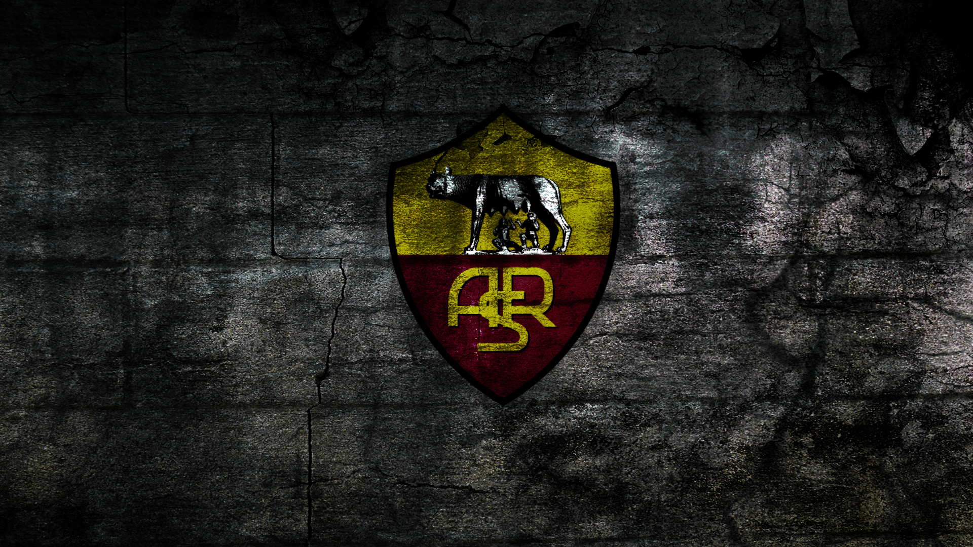 AS Roma Wallpaper by messerwilli 1920x1080