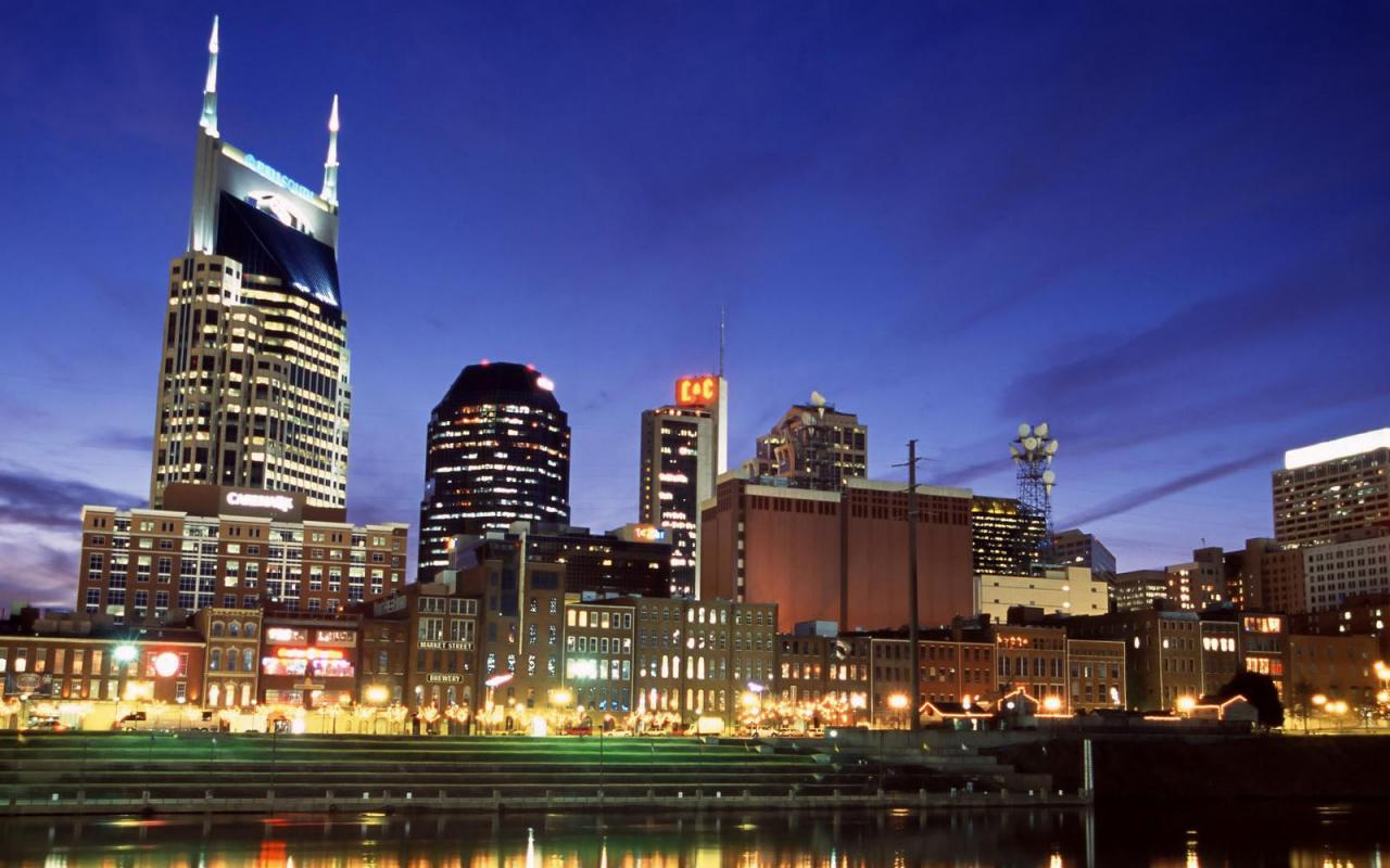 Free Download Download Wallpaper Downtown Nashville At