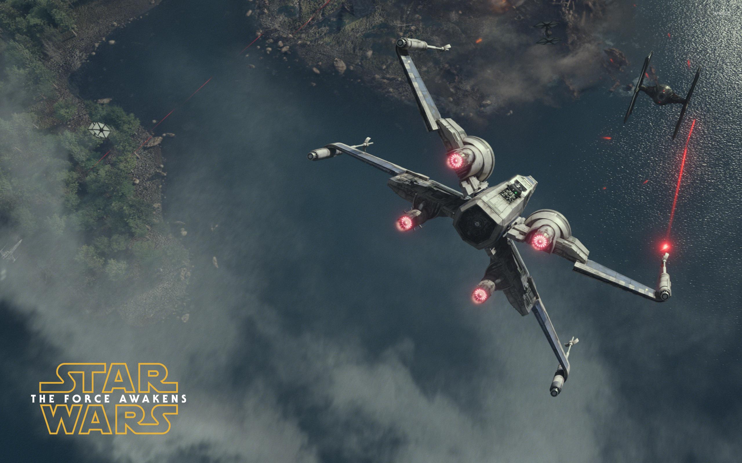 T 65 X wing starfighter   Star Wars The Force Awakens 2560x1600