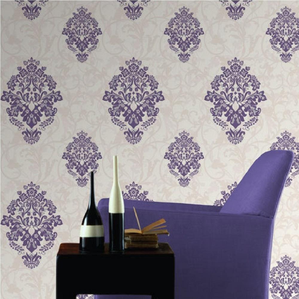 Home Wallpaper CWV CWV Crown Arabesque Wallpaper M0550 1000x1000
