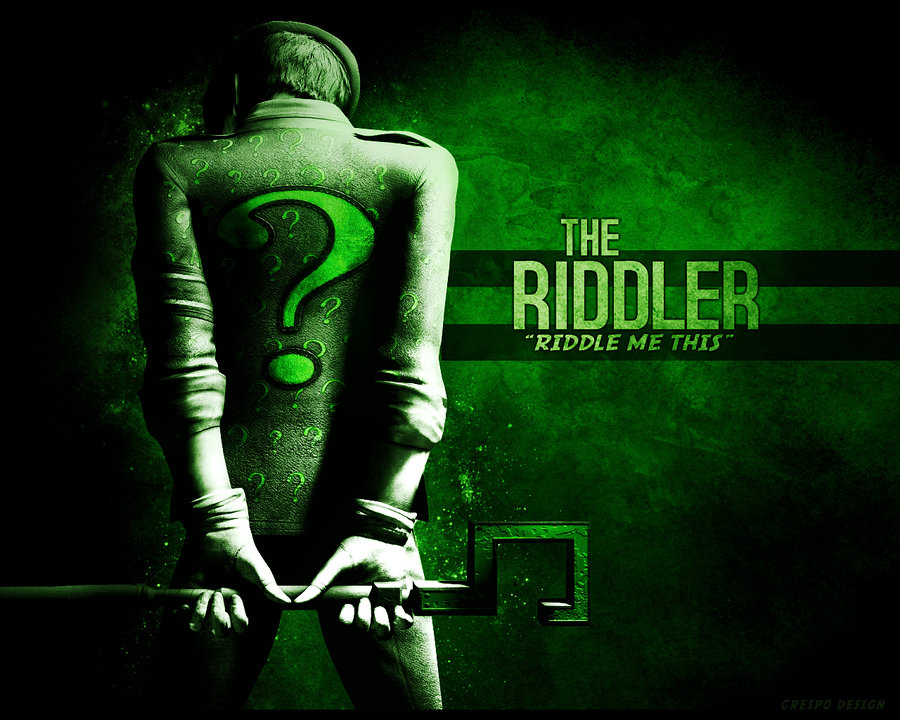 Free Download Riddler Wallpaper By Cre5po 900x720 For Your