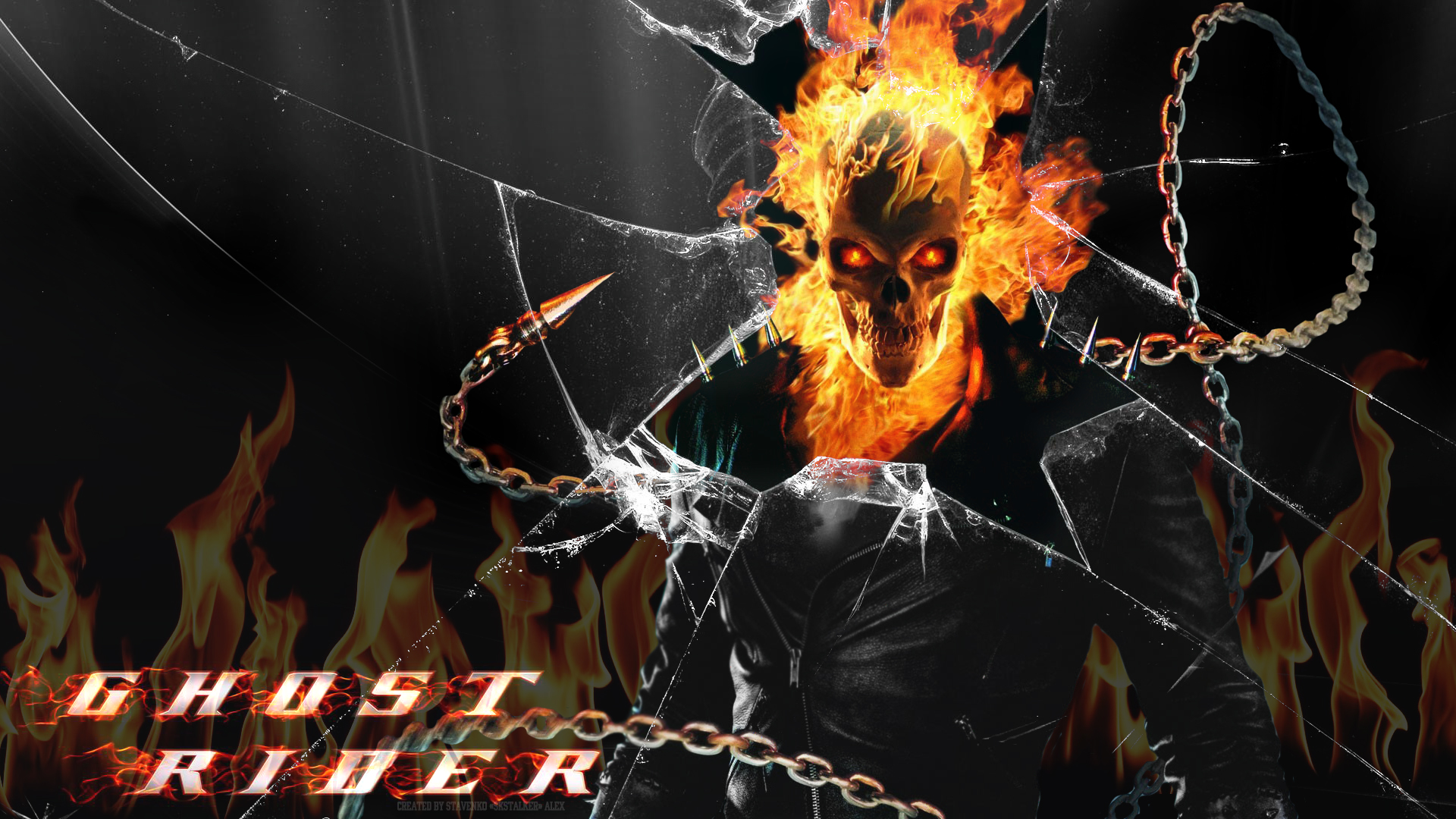 Ghost Rider Wallpaper 1080 by SKstalker 1920x1080