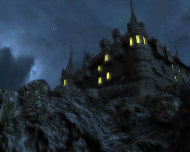 3D Castle Screensaver haunted castle screensaver 640x512