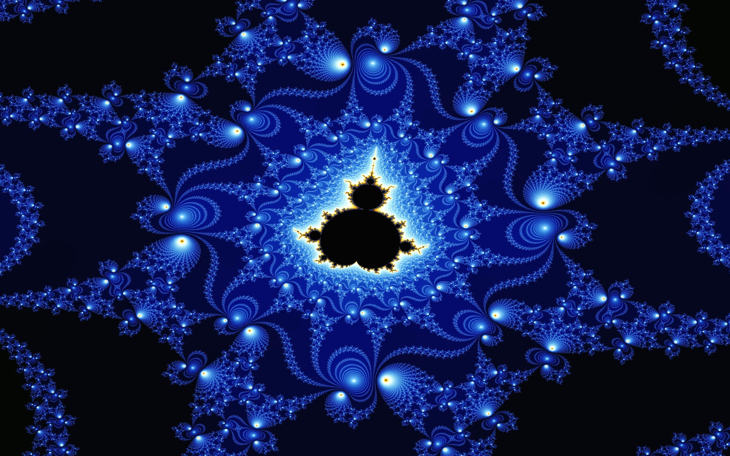 fractal Wallpaper Background 627 2560x1600