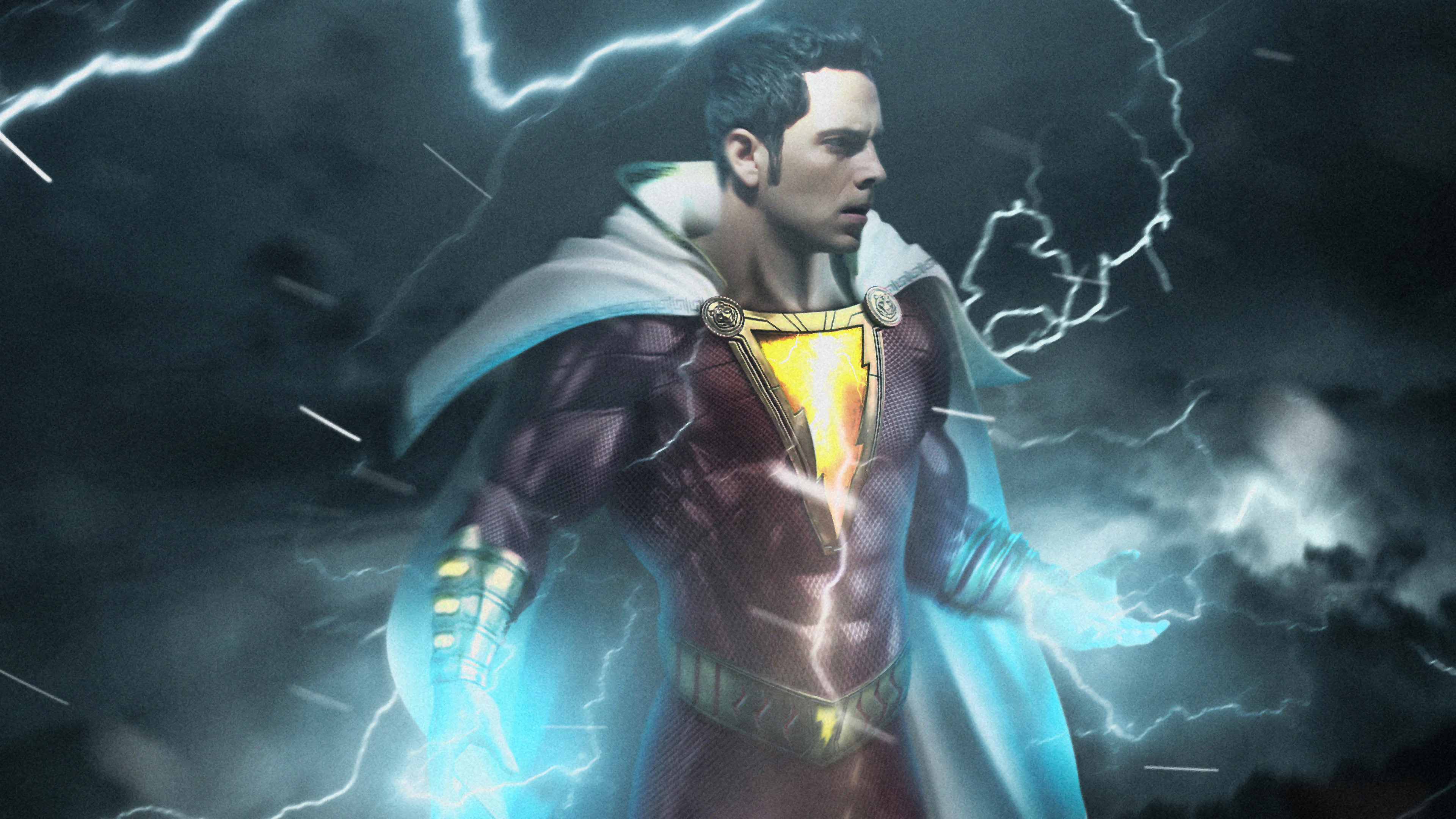 Shazam 4K 8K HD DC Wallpaper 3840x2160