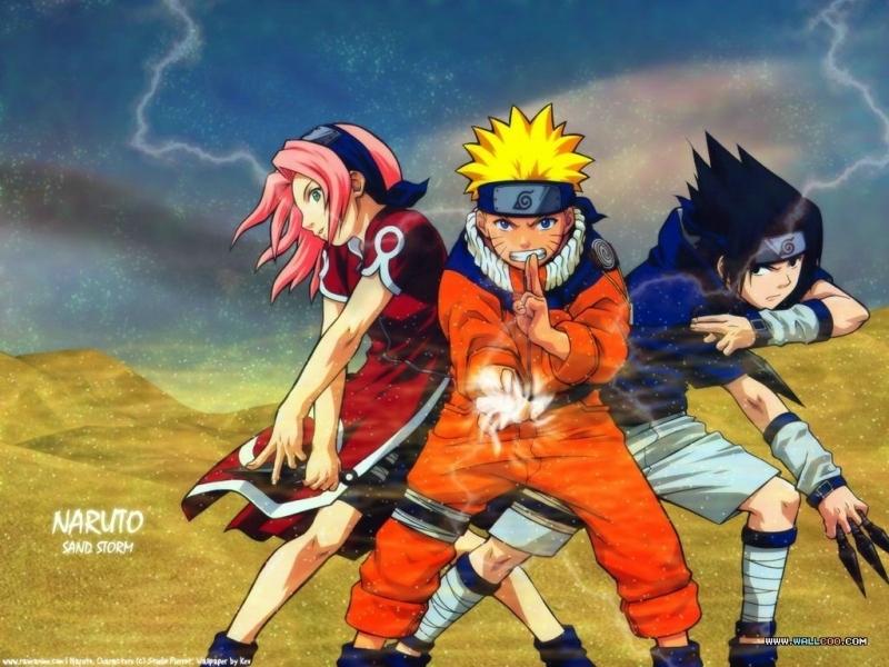 Team 7   Sasuke and Naruto Wallpaper 8259166 800x600