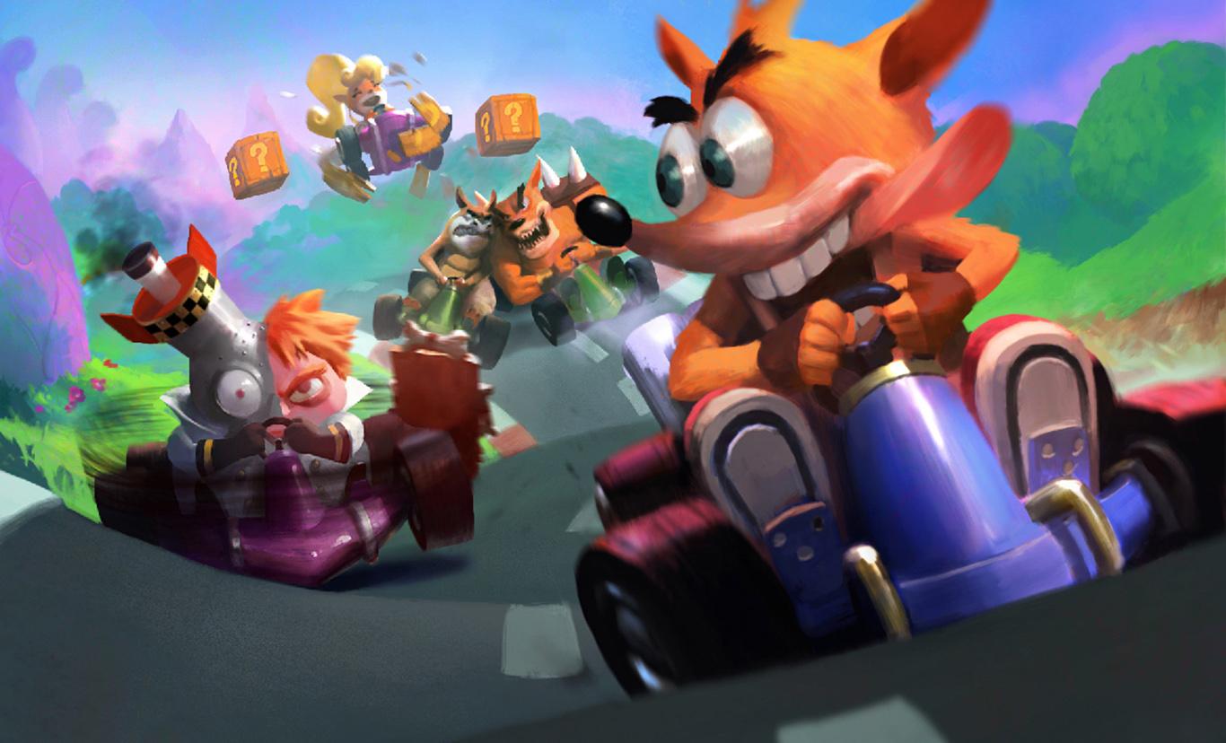 Crash Bandicoot Computer Wallpapers Desktop Backgrounds 1366x828 1366x828