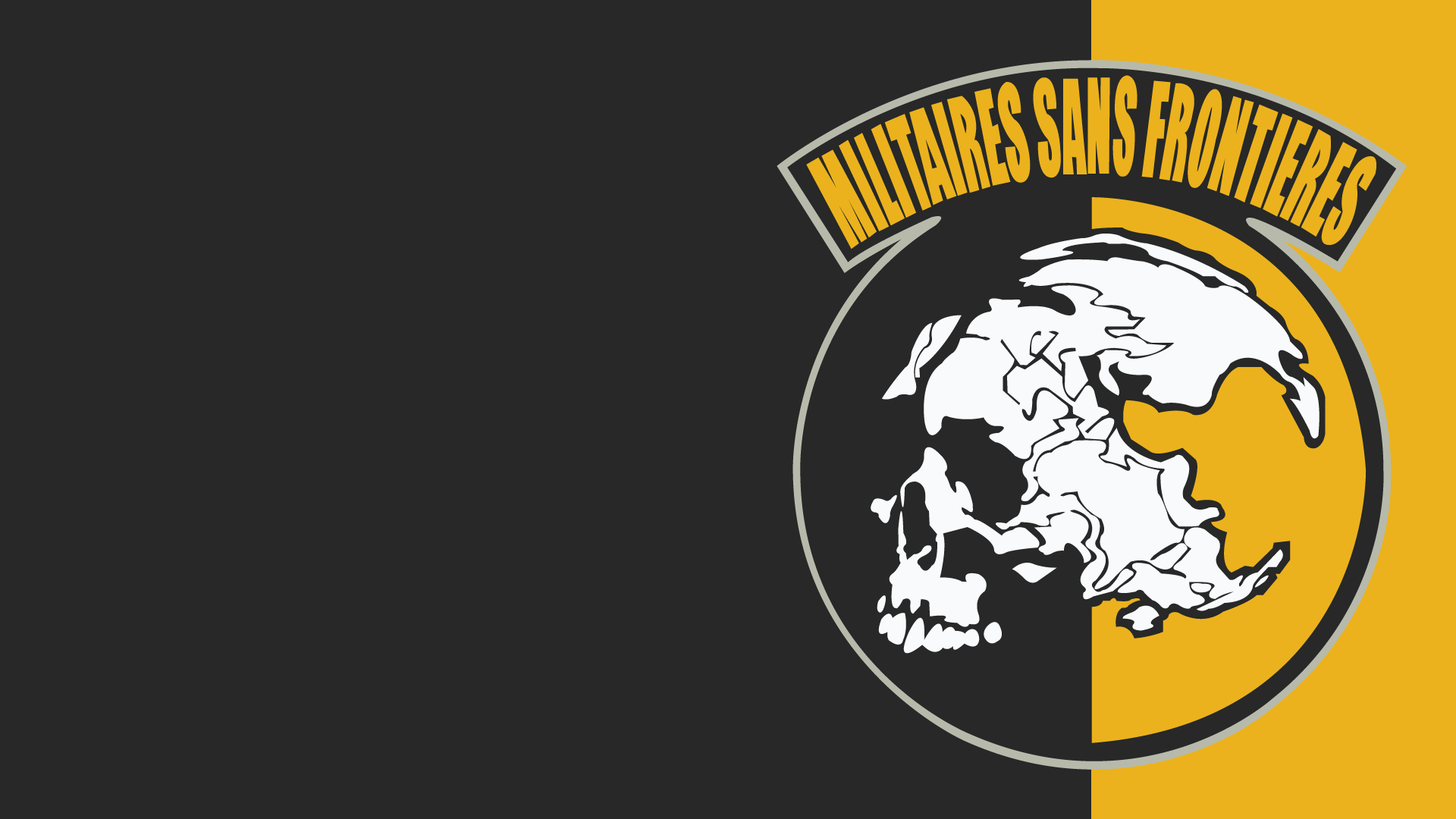 Metal Gear Solid skull skulls dark wallpaper background 1920x1080