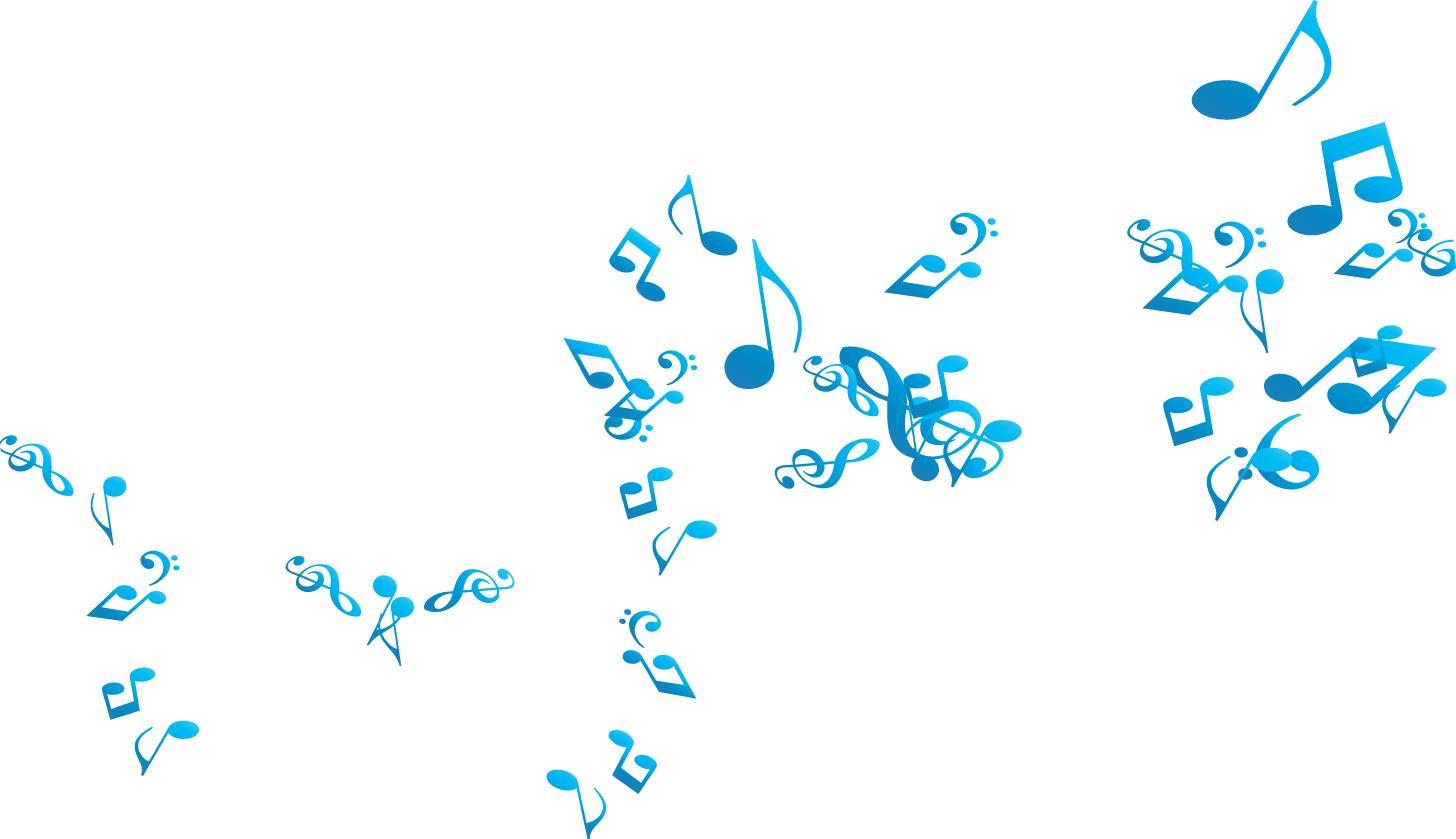 blue music notes wallpaper wallpapersafari