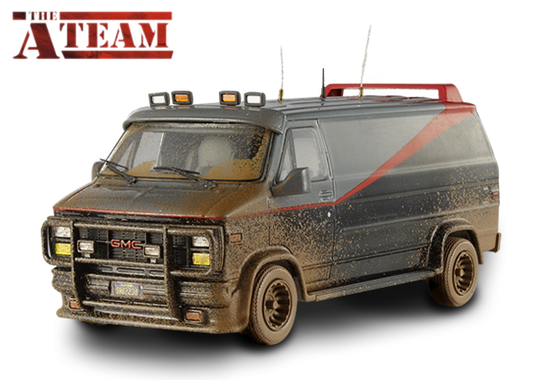 HOME | COLLECTION | CULT CLASSICS COLLECTION (1:43) | A-TEAM VAN