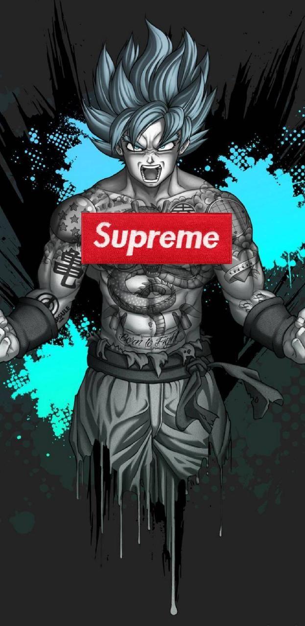 Download Supreme SSJ god wallpaper by supreme savage11 now Browse 623x1280