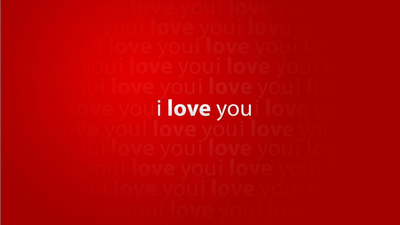 I Love You   1366x768   89940 1366x768