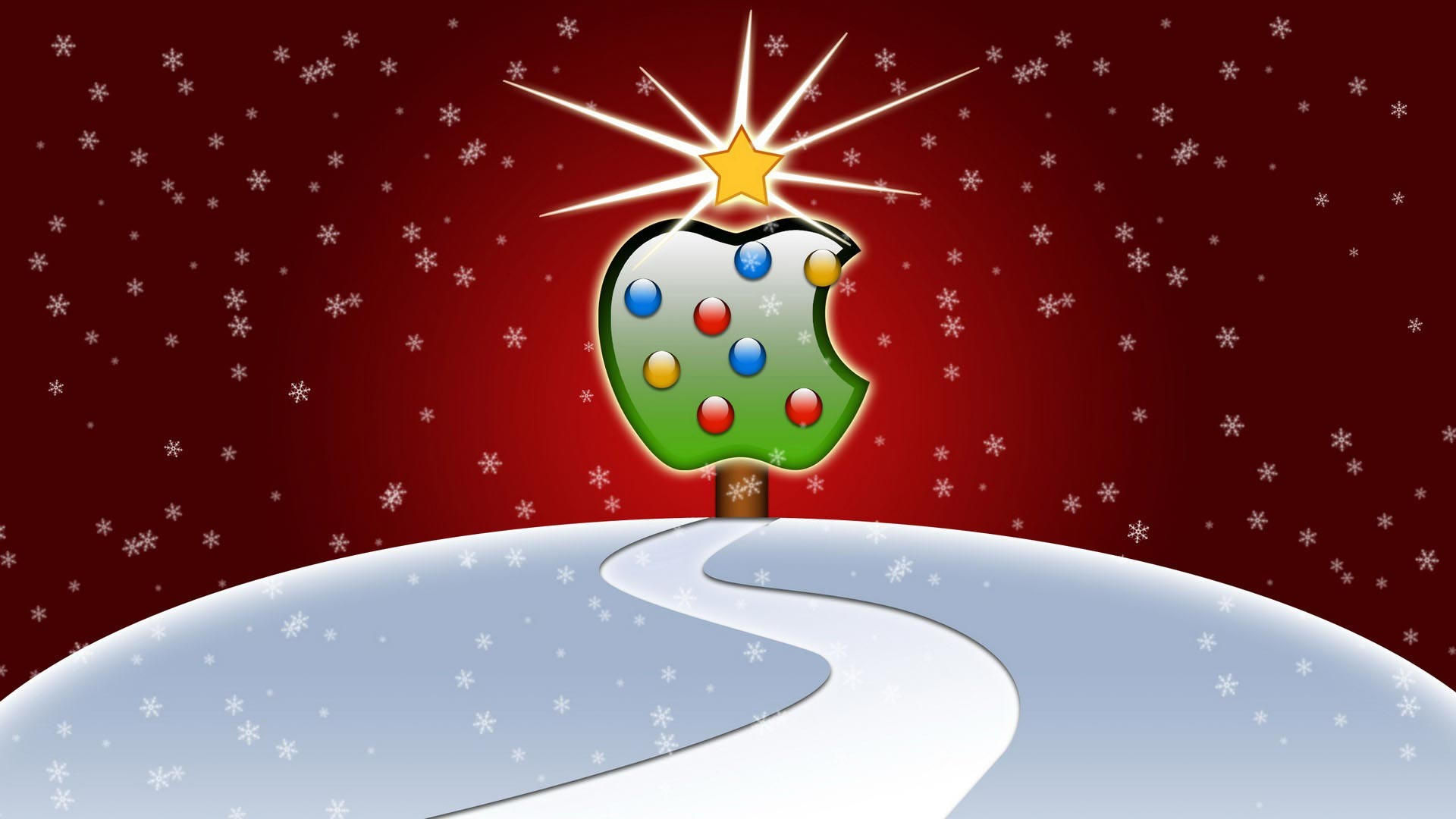 animated background holiday desktop mac christmas apple wallpapers 1920x1080