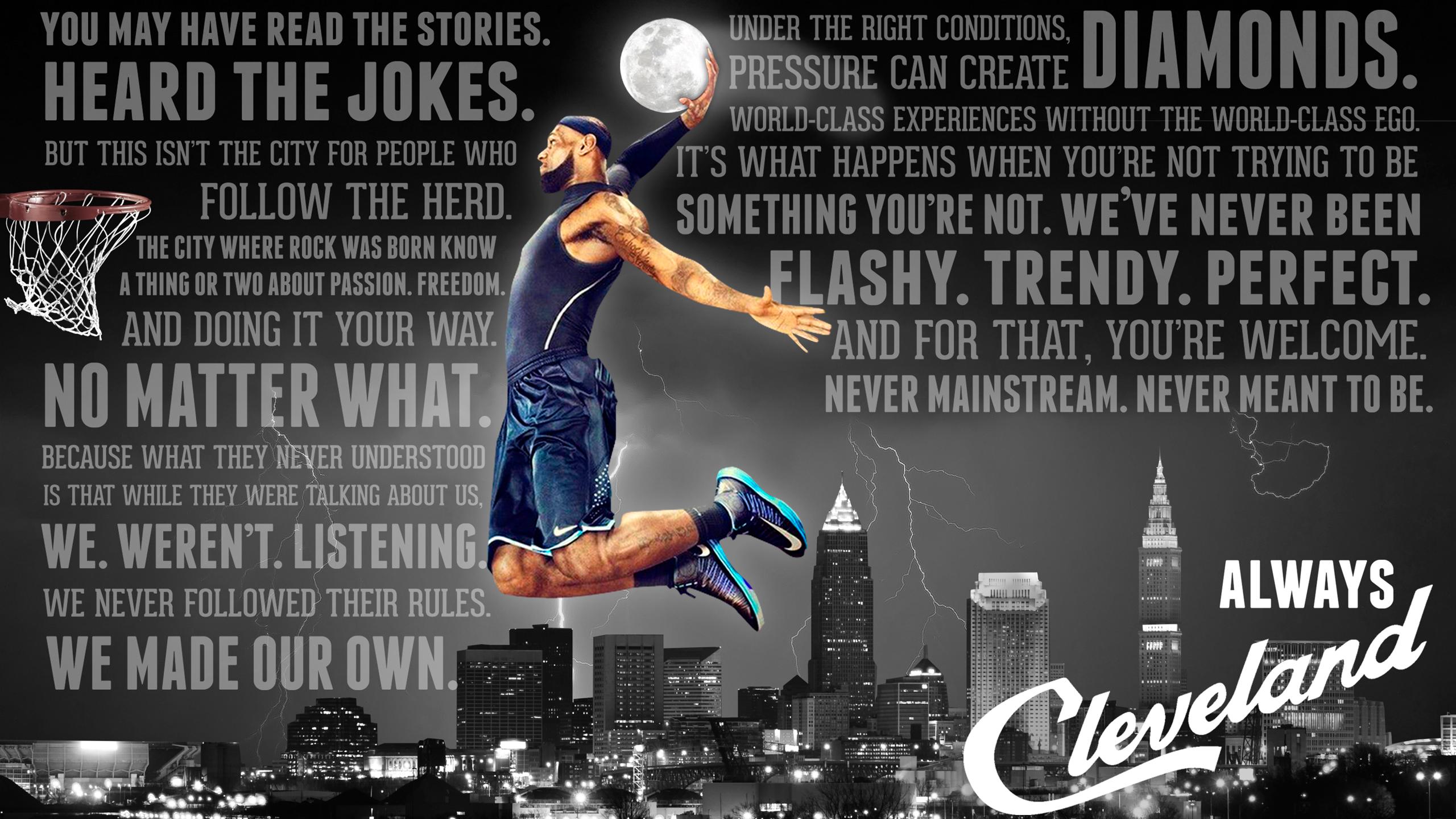 Fan Wallpapers Cleveland Cavaliers 2560x1440