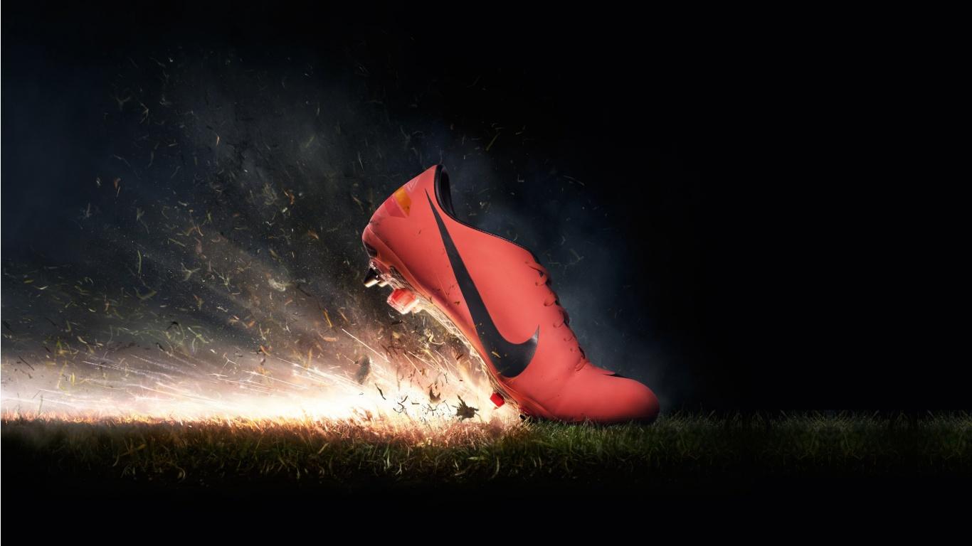 Nike Football Wallpaper 7760 Hd Wallpapers 1366x768