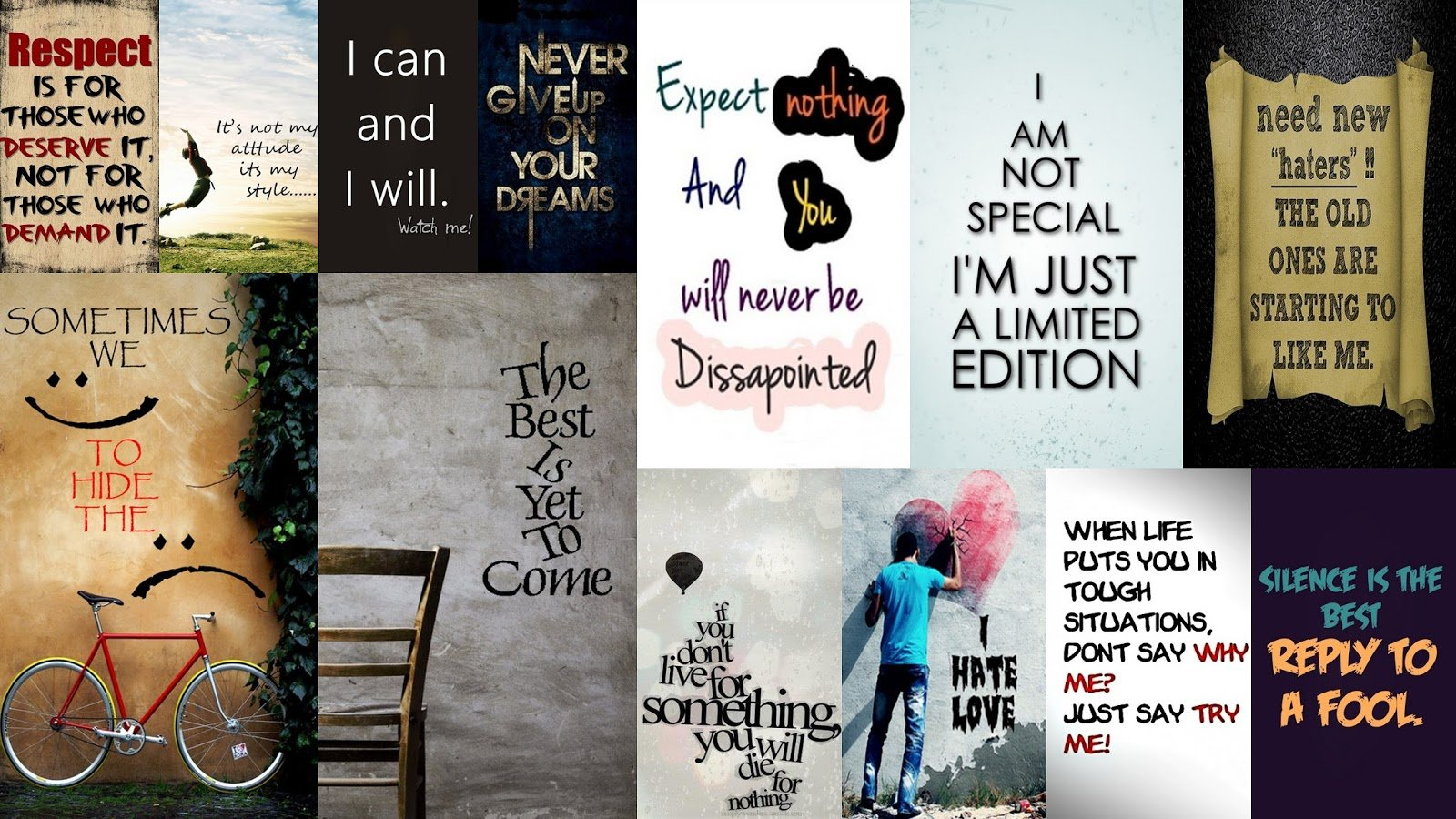 Signs And Sayings Wallpapers For Desktop Signs And Sayings Wallpapers 1600x900