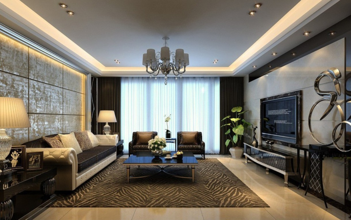 decorating ideas living room modern living room walls decorating ideas 1219x763