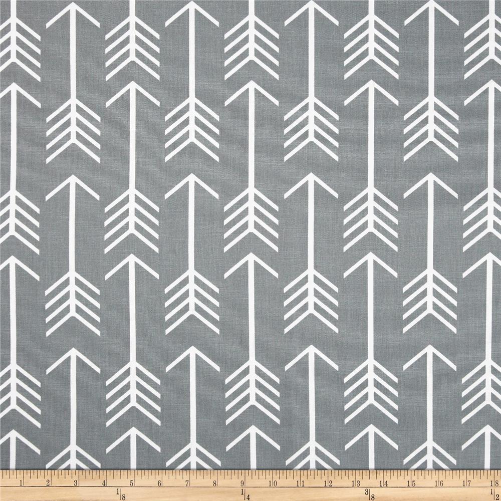 Premier Prints Arrow Cool Grey   Discount Designer Fabric   Fabriccom 1000x1000