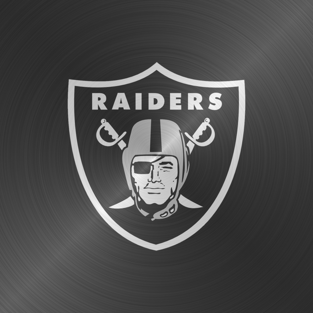 iPad Wallpapers with the Oakland Raiders Team Logos Digital Citizen 1024x1024