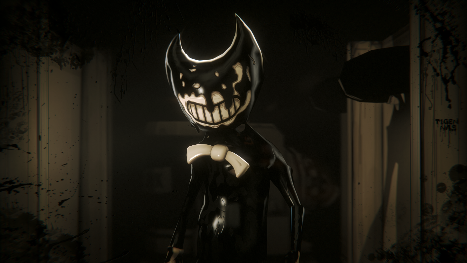 Free Download Sfm Ink Bendy By Batchatillion25t 1920x1080 For