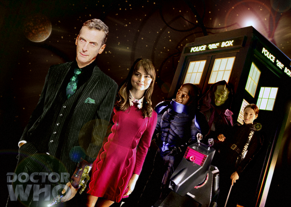 Doctor Who Series 8 Concept by SuperDude001 992x709