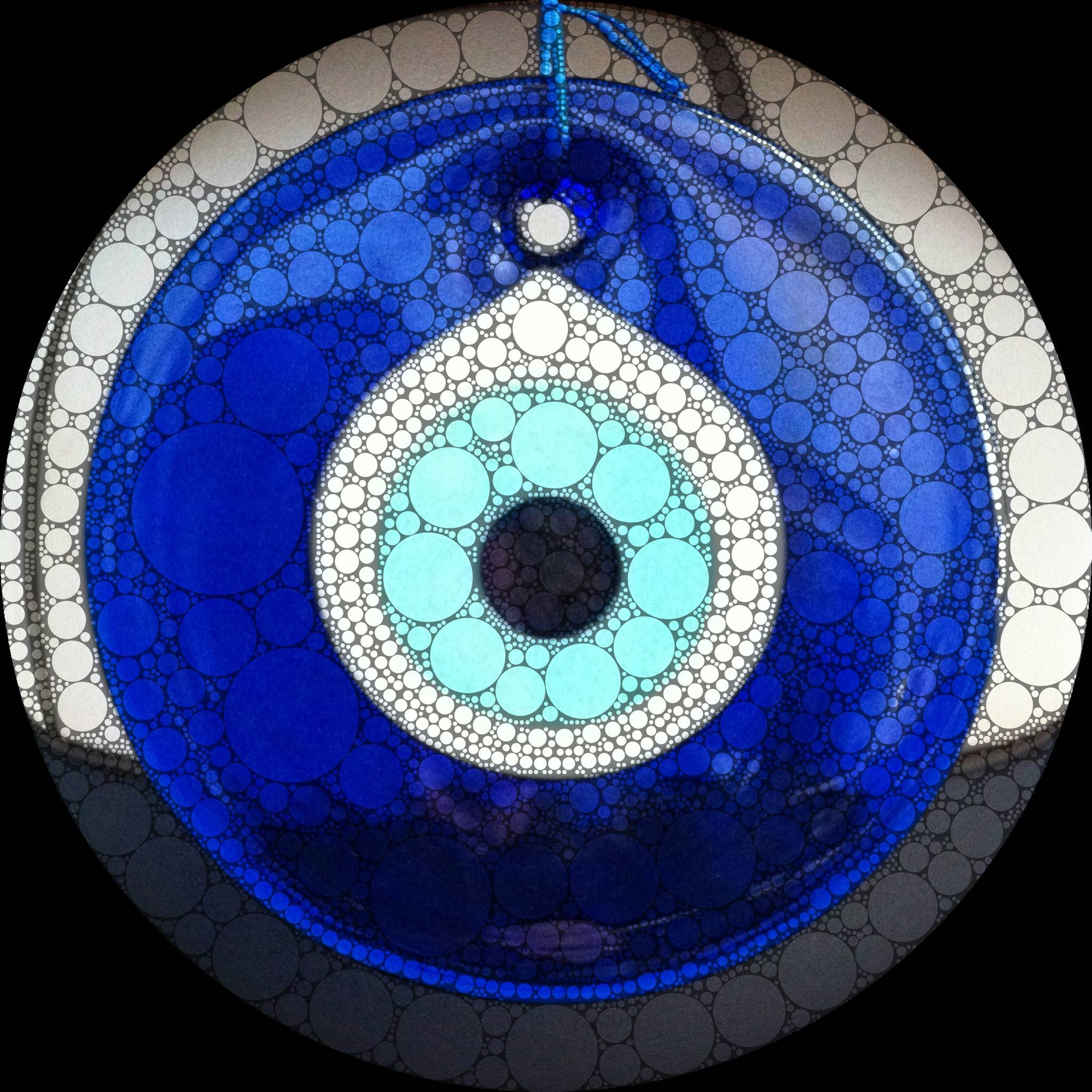 Wallpapers For Blue Evil Eye Wallpaper 2048x2048
