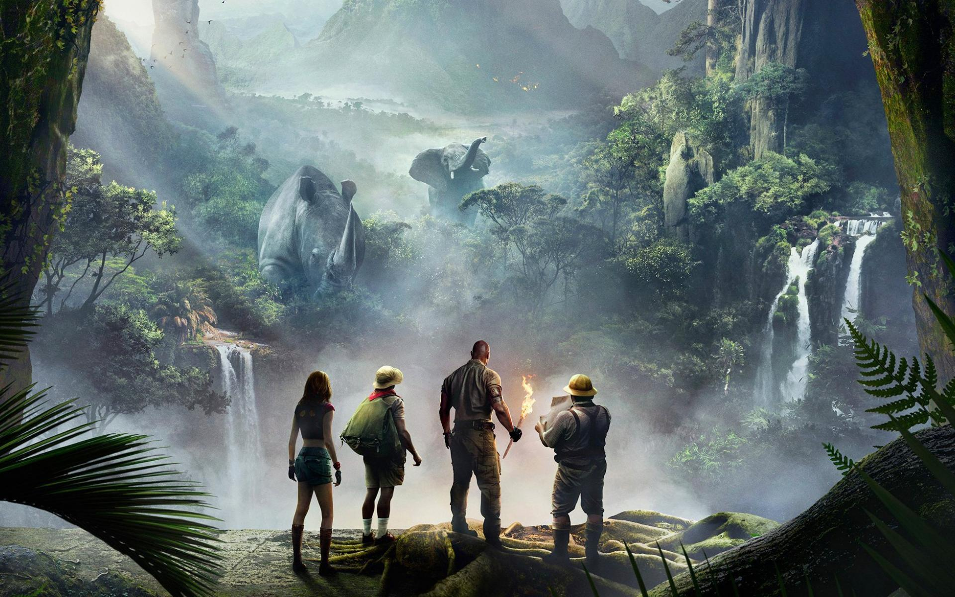 Jumanji Welcome to the Jungle Wallpaper 3   2025 X 1226 stmednet 1920x1200