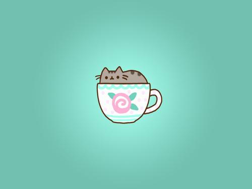 Pusheen Cat Iphone Wallpaper Image include pusheen cat 500x375