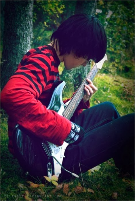 Cool Emo Boys With Guitar Wallpapers 469x700