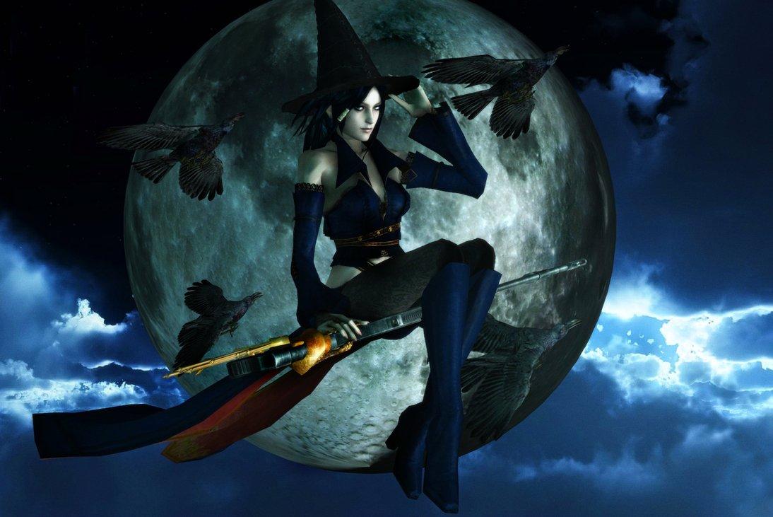 Halloween Witch Wallpaper - WallpaperSafari