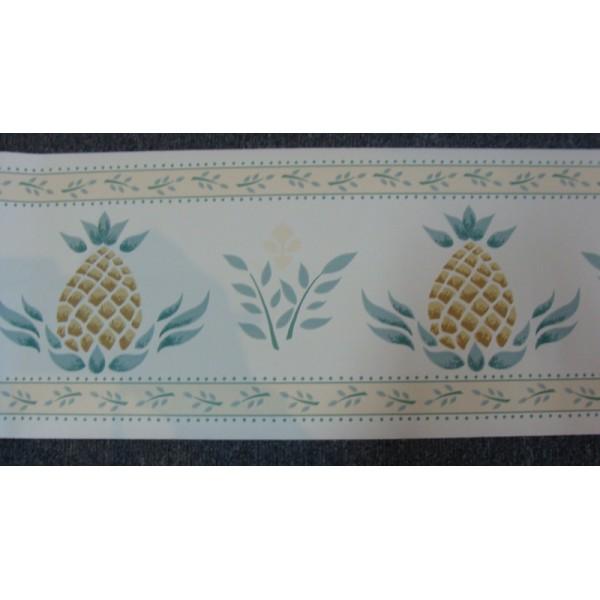 Stencil Design Pineapple Border   Wallpaper Brokers Melbourne 600x600